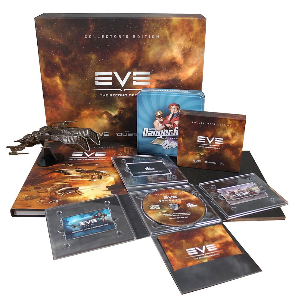 яEVE ONLINE - THE SECOND DECADE COLLECTOR´S EDITION BOX