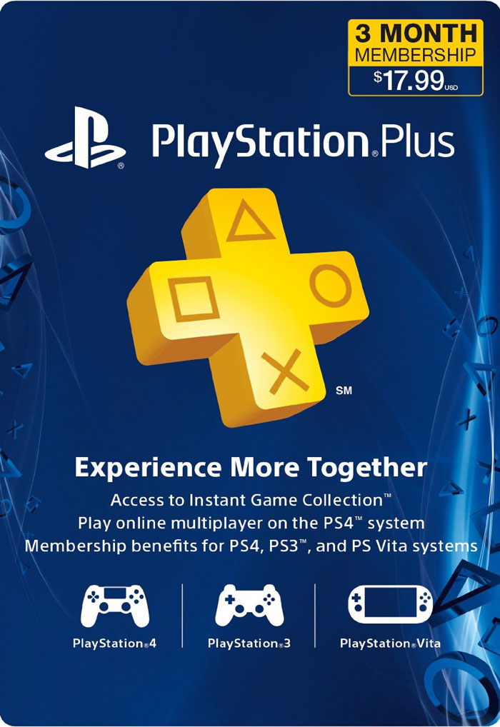 PLAYSTATION PLUS (PSN PLUS) | 3 MONTHS (USA) + Discount