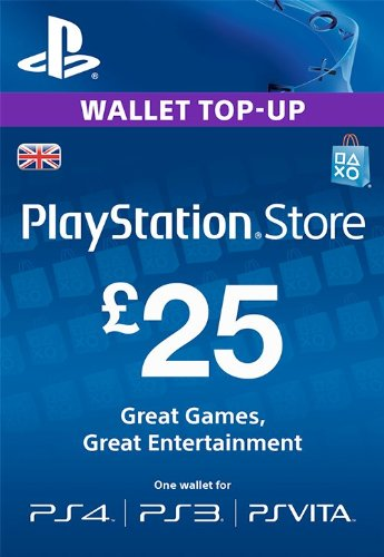 PLAYSTATION NETWORK (PSN) - £25 GBP (UK) | DISCOUN