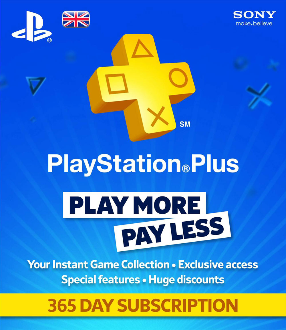 PLAYSTATION PLUS (PSN PLUS) | 365 DAYS (UK) + Discount