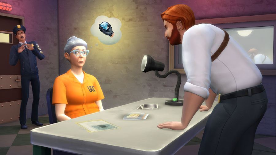 THE SIMS 4: GET TO WORK (WORK) - EXPANSION KEY