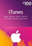 iTUNES GIFT CARD - $100 (USA)  | СКИДКИ