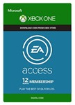 EA PLAY (EA ACCESS) - 12 MONTHS (XBOX ONE)