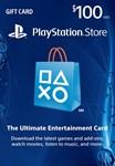 PLAYSTATION NETWORK (PSN) - $100 (USA) | CКИДКИ
