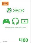 XBOX LIVE CARD $100 (USA) | СКИДКИ