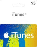 iTUNES GIFT CARD - $5 (USA)  | СКИДКИ