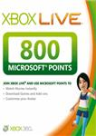 XBox Live 800 MS Points (EURO/RUS) | DISCOUNTS