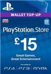 PLAYSTATION NETWORK (PSN) - £15 GBP (UK) | СКИДКИ