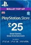 PLAYSTATION NETWORK (PSN) - £25 GBP (UK) | СКИДКИ