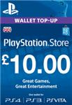 PLAYSTATION NETWORK (PSN) - £10 GBP (UK) | СКИДКИ