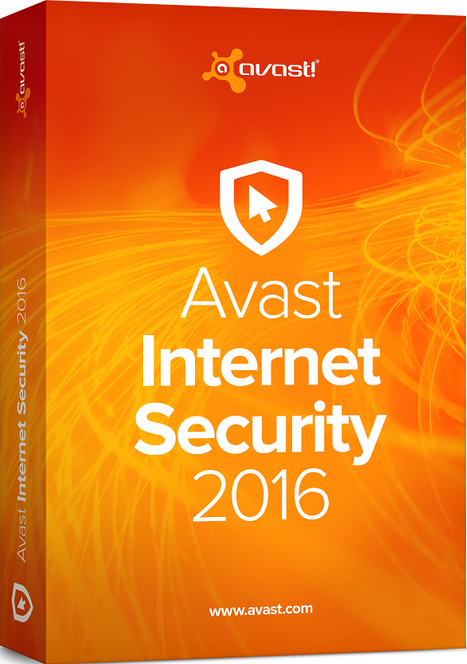 avast! Internet Security 2017 - license 1year / PK1