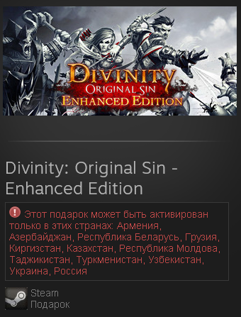 Divinity Original Sin Enhanced Edition-St.Gift/RU+CIS