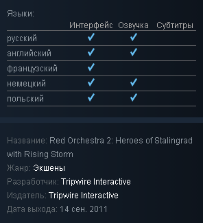 Red Orchestra 2 + Rising Storm - Steam Gift RU/CIS