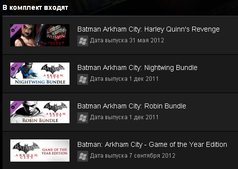 Batman: Arkham City GOTY (Steam Gift / Region Free)