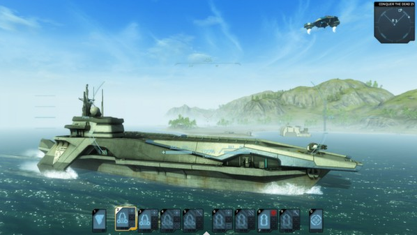 Carrier Command: Gaea Mission (Steam Gift/Reg. Free+RU)