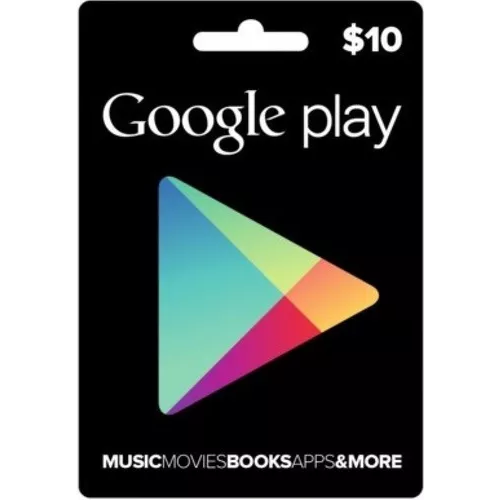 Google Play Gift Card 10$ - USA 2019