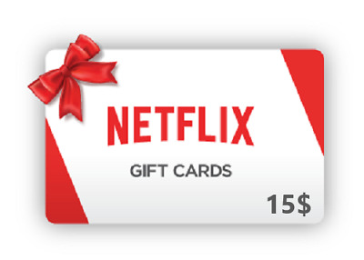 Netflix 15$ Gift Card - USA | BIG Discount + FAST 2019
