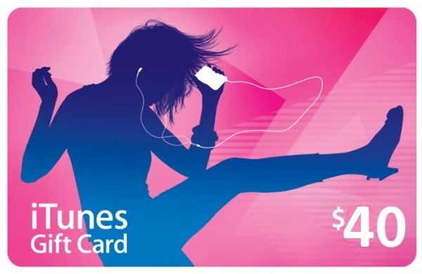 iTunes Gift Card 40 $ USA + Discounts and Gifts