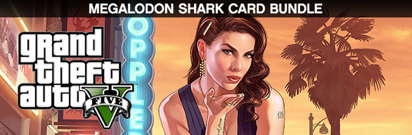 Grand Theft Auto V (GTA 5) + $1,250,000 Shark Cash Card