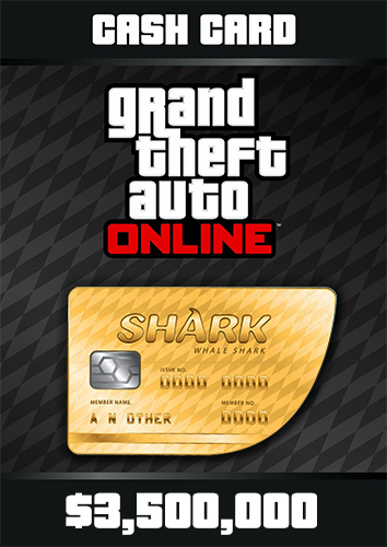 GTA Online: Whale Cash Card ($ 3,500,000) + DISCOUNTS