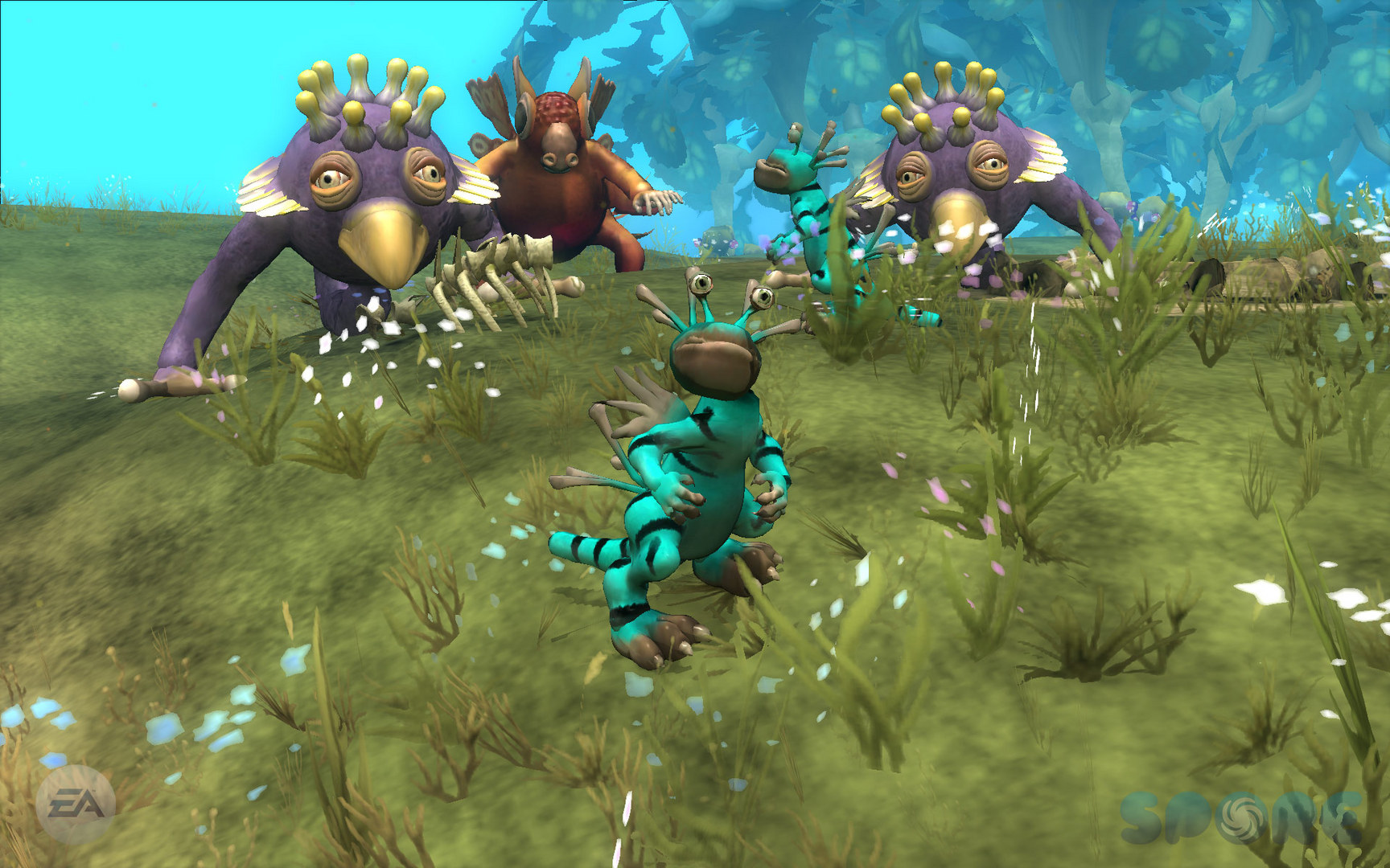 Spore + Creepy & Cute (RU / ENG) (Origin) (Warranty)