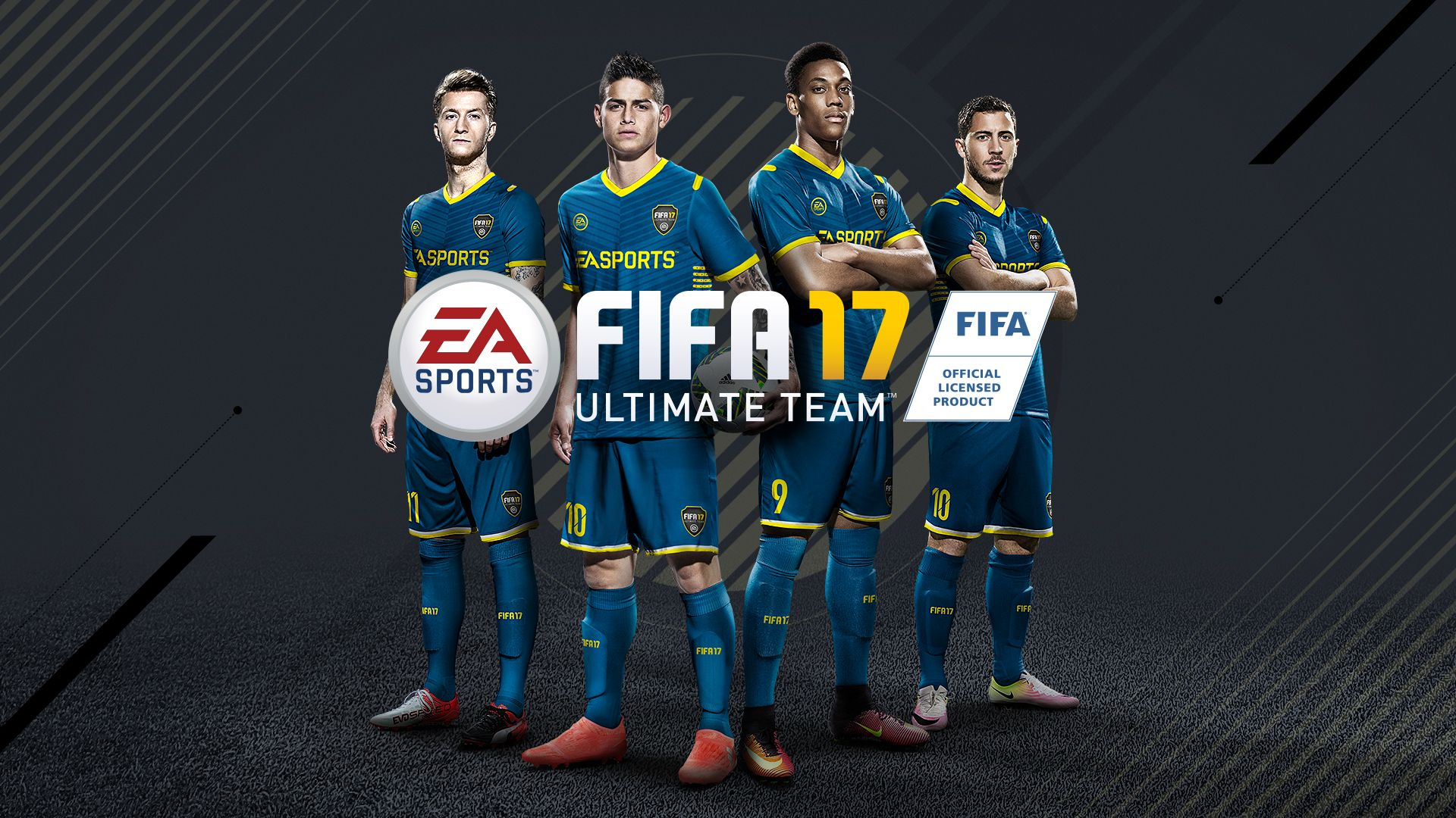 FIFA 17 + Ultimate Team (RUS/ENG) (Warranty)
