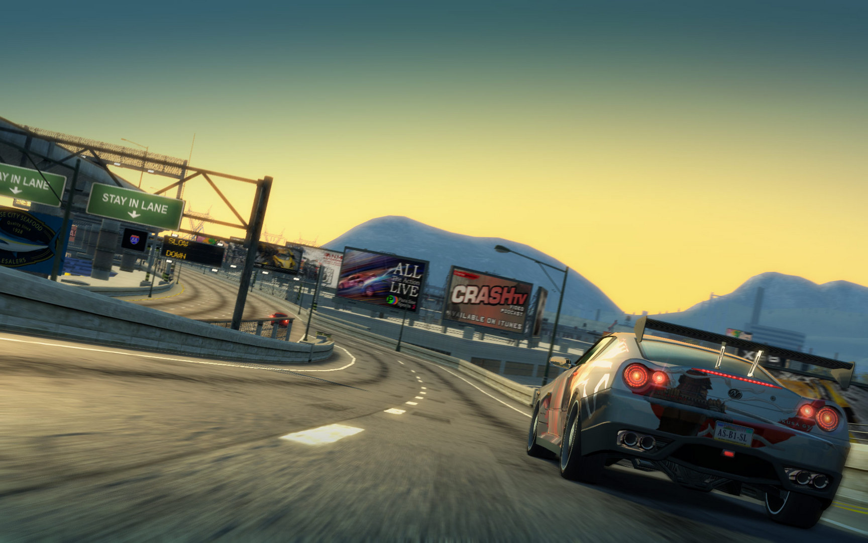 Burnout Paradise The Ultimate Box (RUS/ENG) (Warranty)