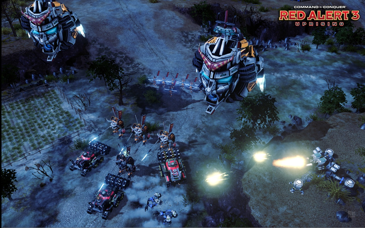 Command & Conquer Red Alert 3: Uprising (Warranty)
