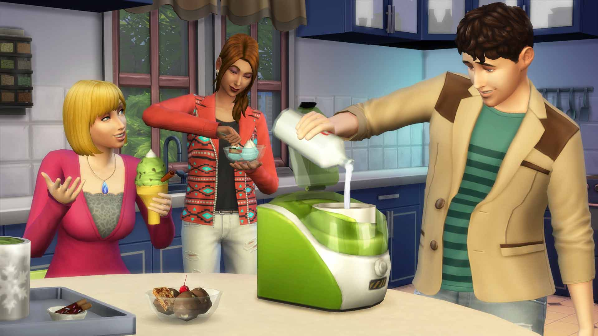 The Sims 4 + Catalog - Cool Kitchen Stuff (Warranty)