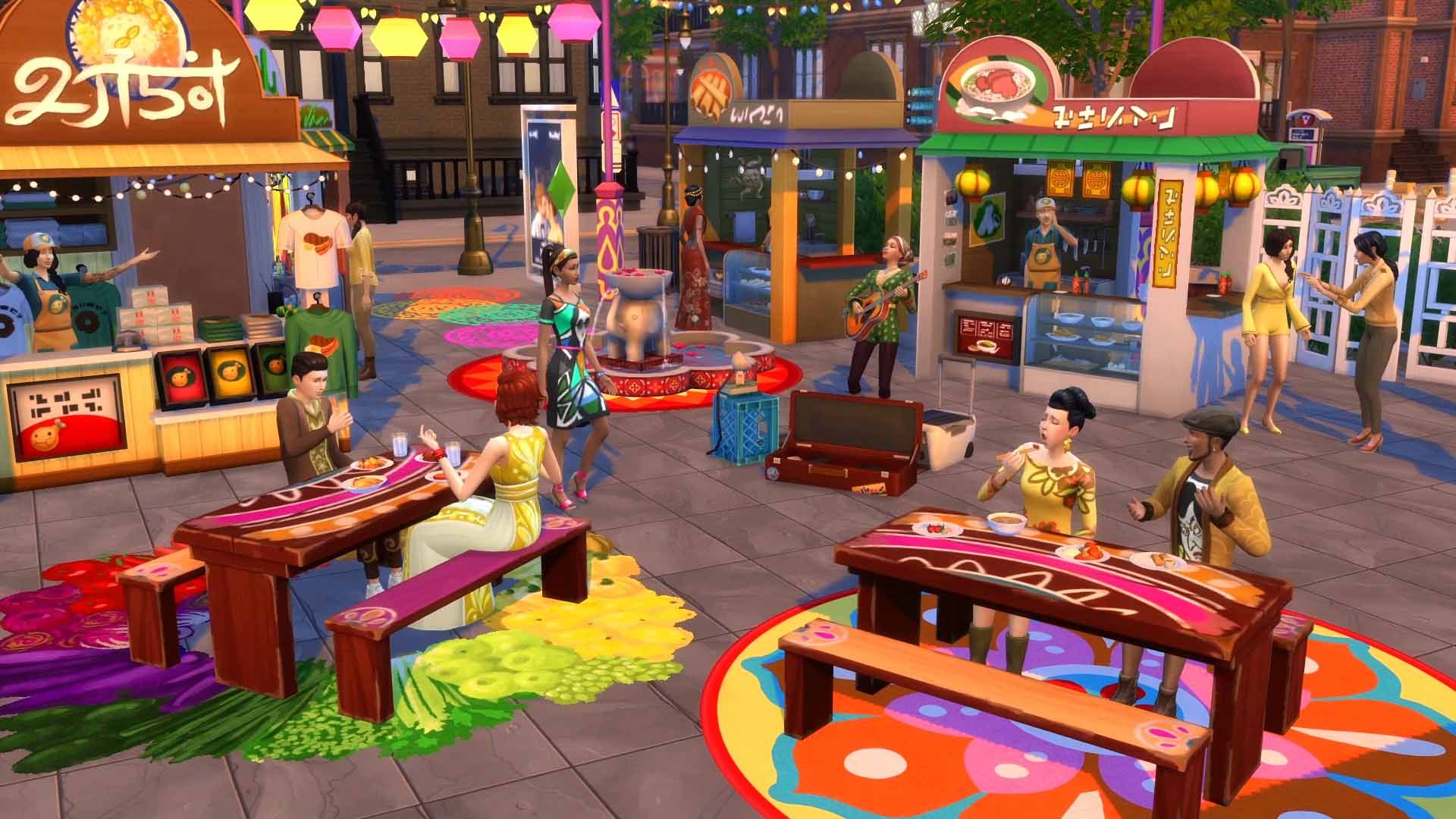 The Sims 4 + DLC - City Living (RUS/ENG) (Warranty)