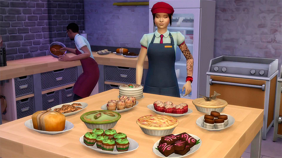 The Sims 4 + DLC - Get to Work (RUS/ENG) (Warranty)