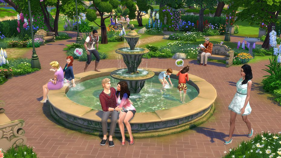 The Sims 4 + Romantic Garden Stuff (RUS/ENG) (Warranty)