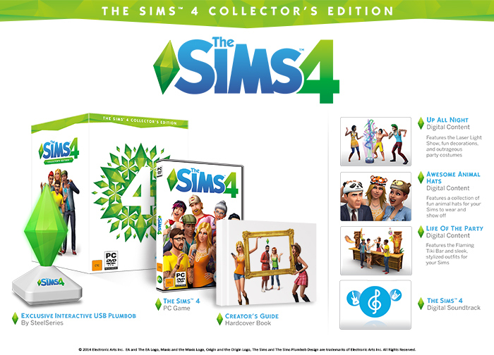 The Sims 4 Collectors Edition (RUS/ENG) (Warranty)