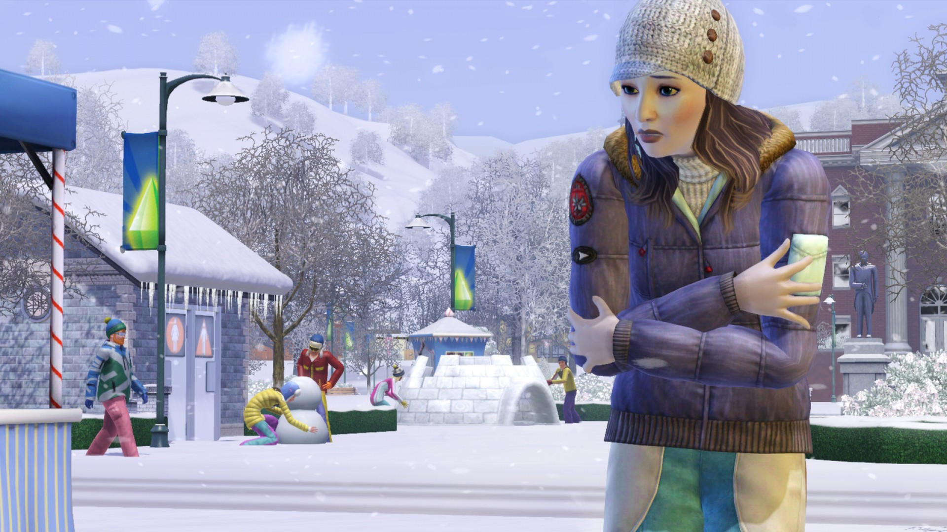 The Sims 3 + DLC Seasons (RUS/ENG) (Warranty)