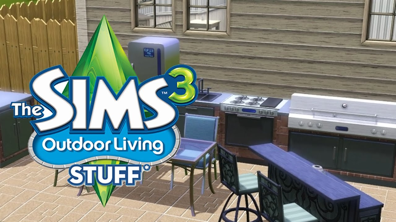 The Sims 3 + Outdoor Living Stuff (RUS/ENG) (Warranty)