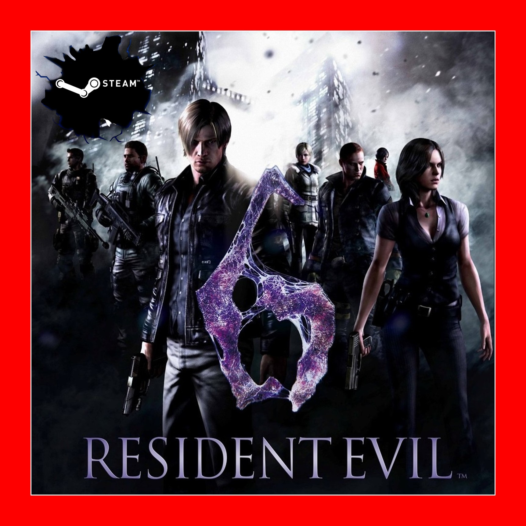 Resident Evil 6 ( Steam Key RU + CIS )