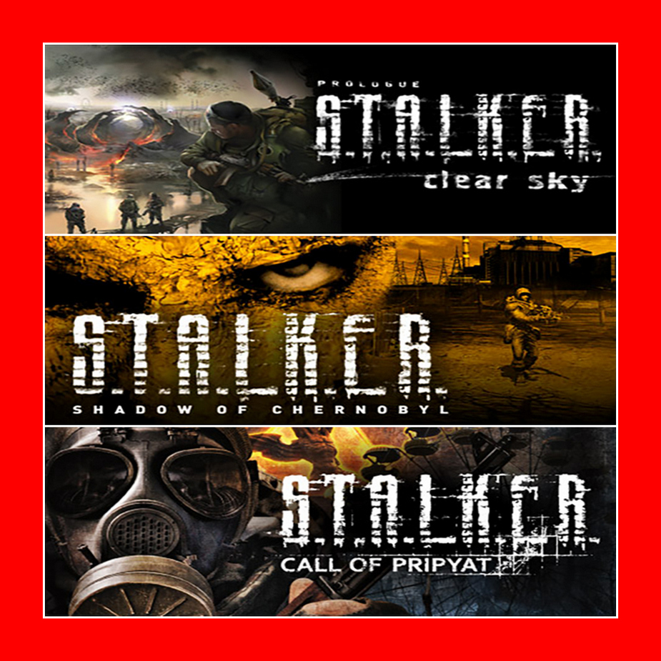 STALKER / S.T.A.L.K.E.R.: Bundle STEAM KEY REGION FREE