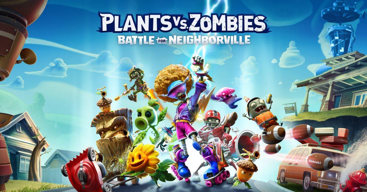 Скриншот  1 - Plants vs. Zombies: Battle for Neighborville + Подарки
