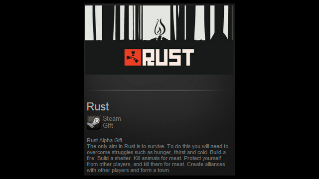 Rust (Steam gift / Region free / ROW)