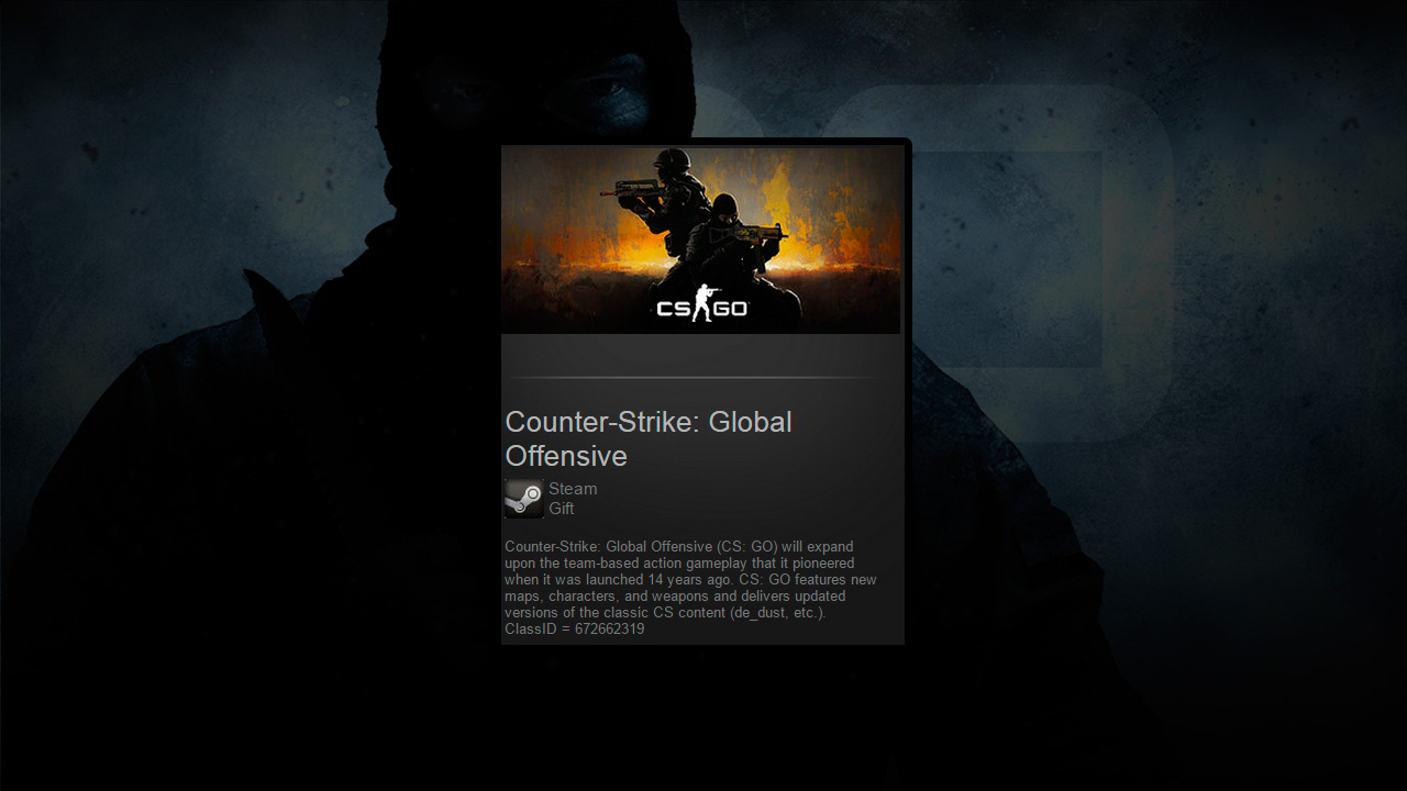 Counter-Strike GO (CS:GO/Steam Gift/ROW/Region Free)