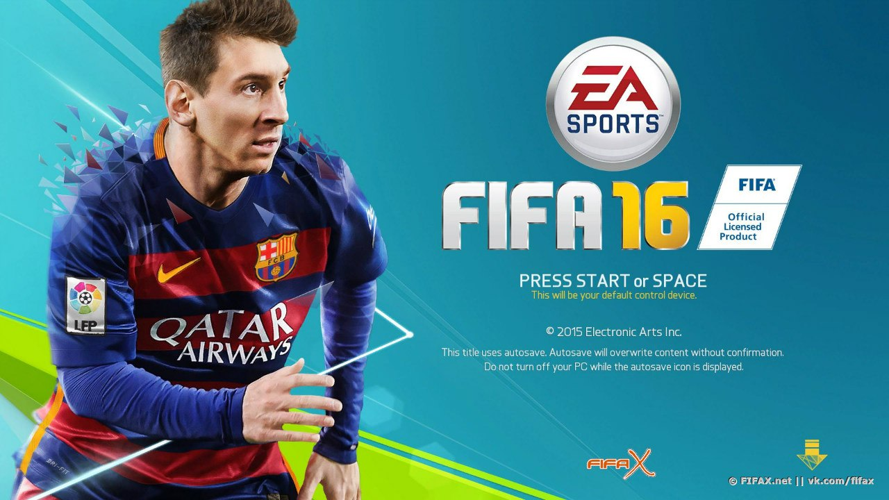 FIFA 16 (Origin/Region Free/Multilanguage)