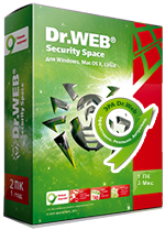 Dr.Web Security Space Pro 1 PC 3 months + Dr.Web Mobile