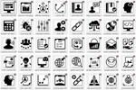 Красивые иконки высочайшего класса в векторе и растре