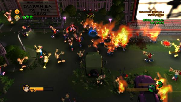 Burn Zombie Burn! (Steam key / Region Free)