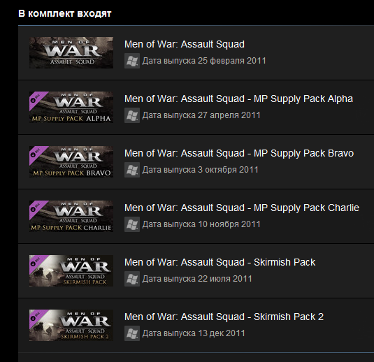 Men of War: Assault Squad GOTY (Steam key)