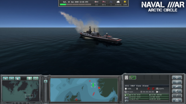 Naval War - Arctic Circle (Steam key / Region Free)