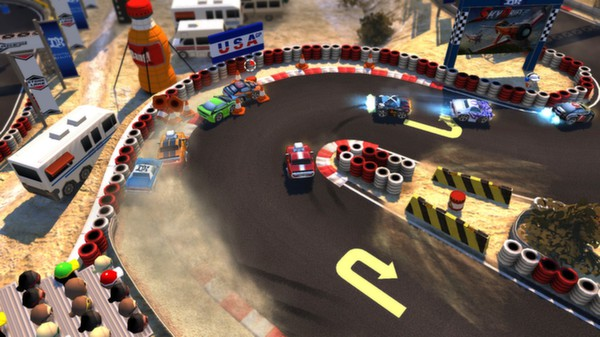 Bang Bang Racing (Steam key / Region Free)