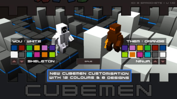 Cubemen (Steam key / Region Free)