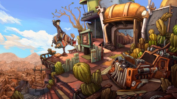 Deponia (Steam key / Region Free)