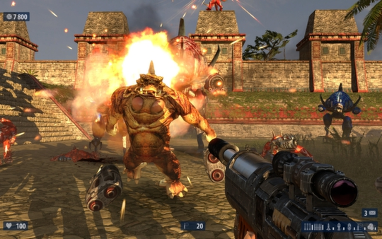 Serious Sam HD The Second Encounter (Steam key)